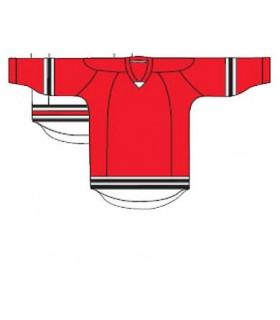 Maillot Uni Kamazu 20100 hockey, joueur rouge