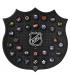 Plaque mini palets Logo NHL