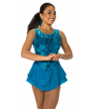 Tunique Jerry's 085 Sweep of Sequins -Dark Turquoise, M