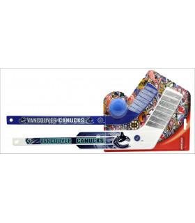 Kit L'Echapée, crosse J+G+balle logo NHL