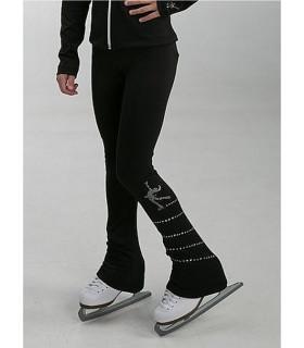 Legging JS P7R spiral+patineuse, enf