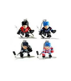 Porte clès JOUEUR ou GARDIEN NHL
