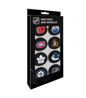 Mini palets Logo NHL, pack de 8