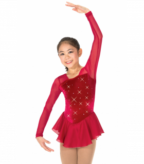 Tunique Jerry's 150/012 Rhinestone red. 6-8ans