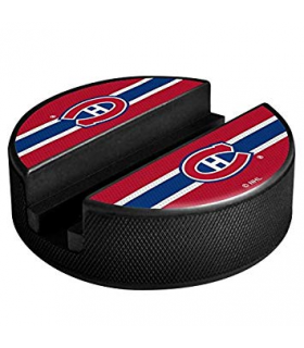 Support à appareil mobil, forme Palet LOGO NHL