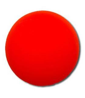 Balle roller PLASTIQUE ORANGE ECO