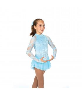 Tunique Jerry's 039 Versailles Dress - Crystal Blue, 8-10 a