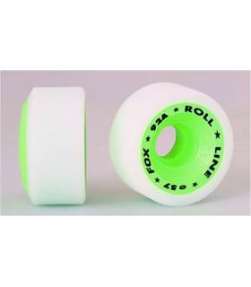 Roues Fox Ø57 mm 92A Roll Line, Libre