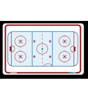 Tableau de remplacement 25 x 37 cm hockey TOPO