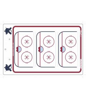 Tableau coach Delux GARDIEN 40 x 25cm hockey TOPO
