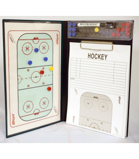 Tableau coach 2 Volets multifonction Topo hockey