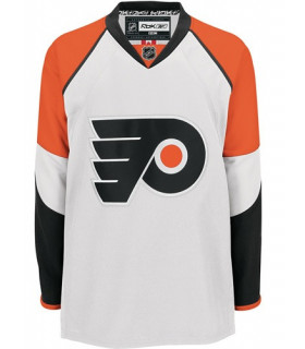 Maillot NHL Flyers Philadelphie blanc RBK Premier SR REPLICA