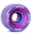 Roues Boiani Star light GLITTER 57 mm HD75 VIOLET