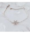 Bracelet flocon de neige, argenté, Brilliance & Melrose