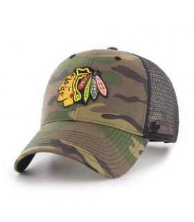 Casquette NHL Chicago Blackhawks Branson Camo '47