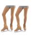 LOT DE 2 PAIRES de Collants couvre patin SG 3094QE, 80den, 6-12 ans