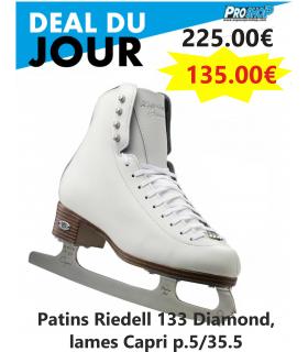 Patins Riedell 133 Diamond, lames Capri p.5/35.5