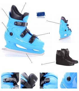 Patins de location FIGURE TEMPISH R16
