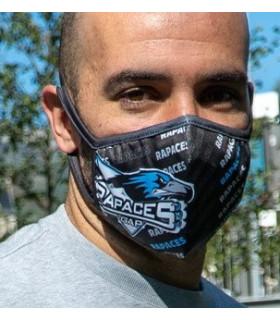 Masque Rapaces noir