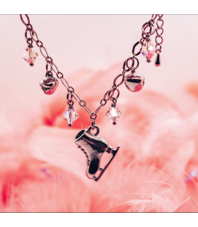 Bracelet Patin Charms en transparent, Brilliance & Melrose