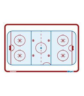 Tableau de poche 11 x 15cm de hockey Topo