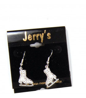 Boucles d'oreille Jerry's 1281, couleur argent
