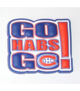 Magnet GO HABS CANADIEN MONTREAL
