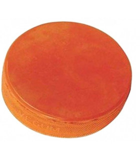 Palet Hockey orange lourd d'entrainement