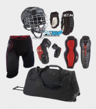 Kit de protections roller hockey
