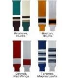 Bas unis ou couleurs NHL